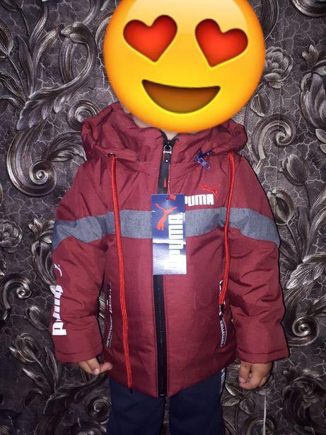 Детская куртка на мальчика демисезон 2-6 лет