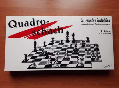 Szachy Quadro schach dla 2-4 graczy  nowe!!!