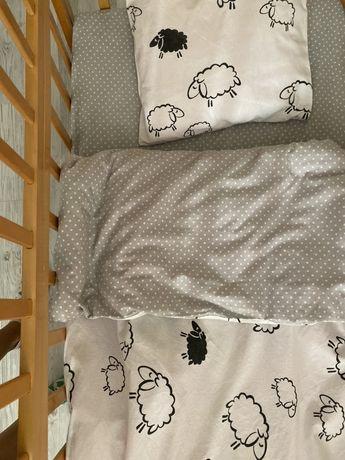 Бортики + постель в кроватку