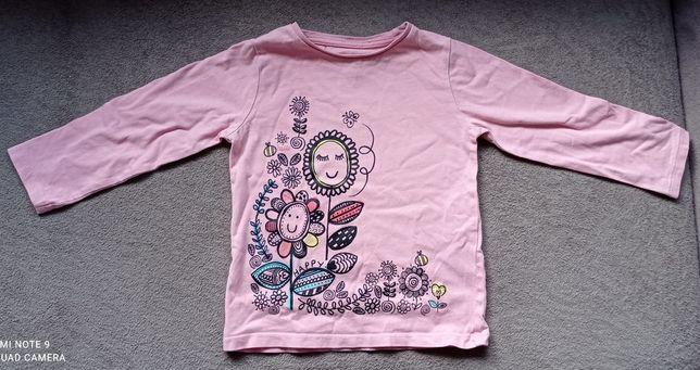 Bluzka bluzeczka 92 98 Nutmeg długi rękaw