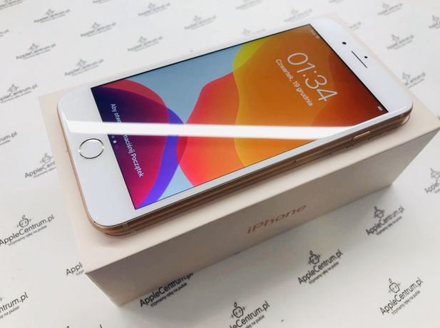 PROMOCJA • iPhone 8 PLUS + 64GB Gold • GWARANCJA 1 MSC • AppleCentrum