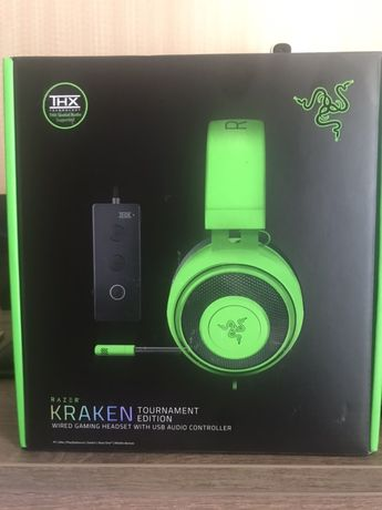 Продам наушники Razer Kraken Tournament Edition