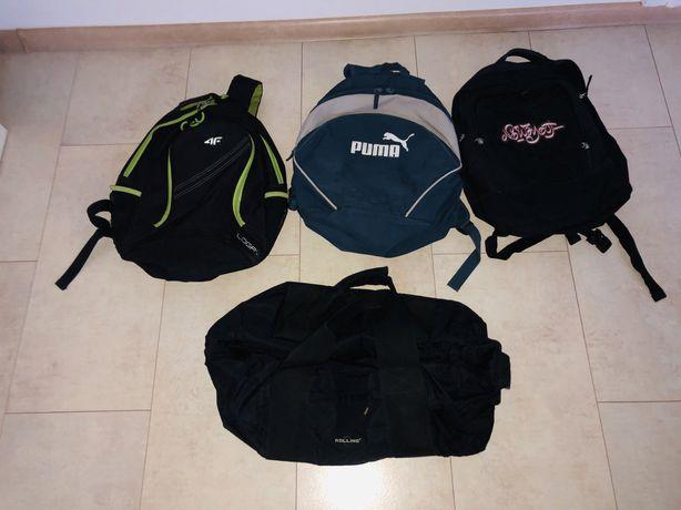 wszystko razem - 3 plecaki + torba (4f - PUMA)