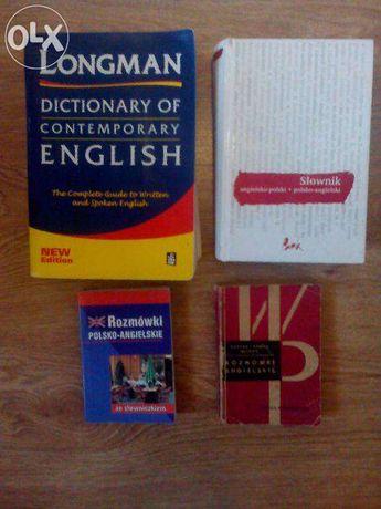Pakiet książek-język angielski Longman, 4 książki za cenę jednej