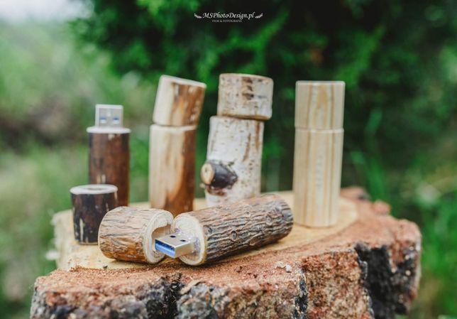 Eko/naturalny/drewniany pendrive 16GB
