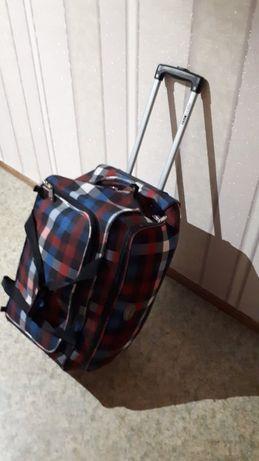 Дорожная сумка на колесах Foxy line,чемодан на колесах Foxy line!Польш