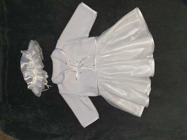 Sukienka do chrztu 62-68