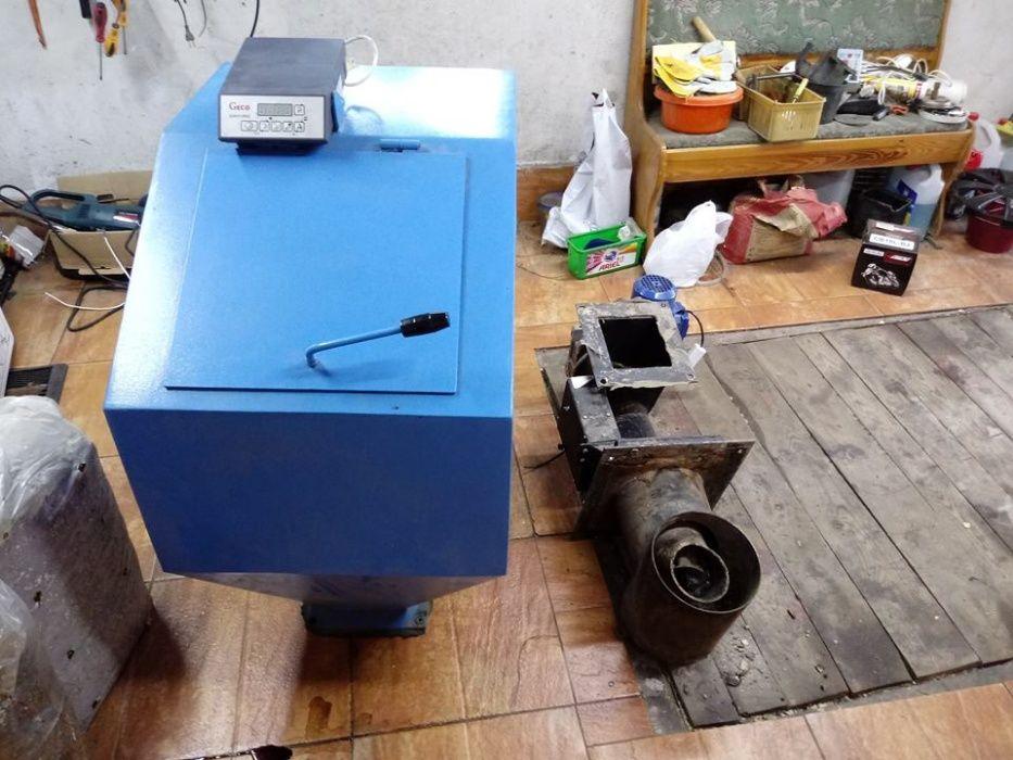 podajnik ślimakowy do pieca CO na pellet ekogroszek Sinogóra - image 1