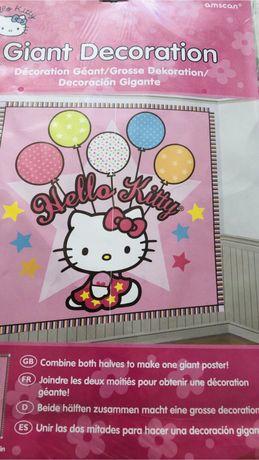 Hello Kitty фото зона плакат банер фотозона Хелов Кітті хело китти