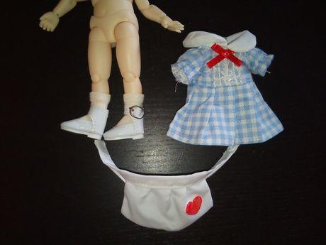 Zestaw ubranek dla lalka bjd 1/8 np. pukifee