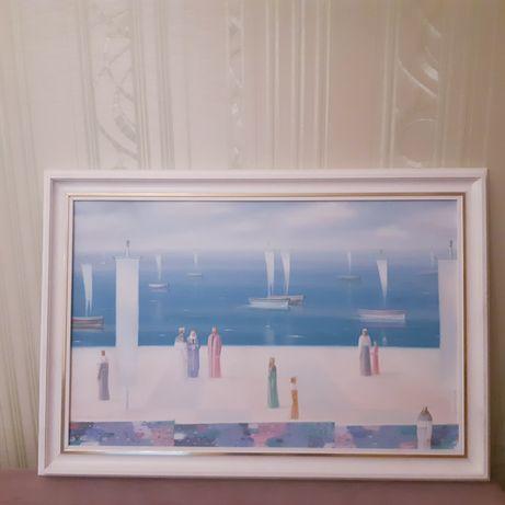 """Картина. """"Сон океана"""".холст. Масло."""