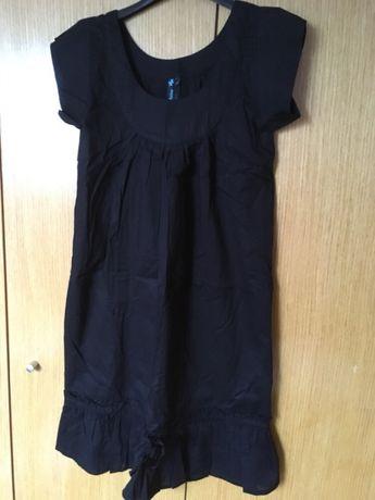 vestido preto oxbow