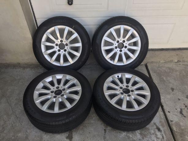 Продам диски з резиною r16 5/112 резина Pirelli cinturato p7 225/55