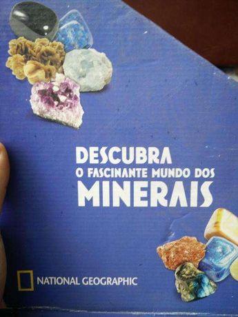 """Colecção """"Os Minerais"""" National Geographic"""