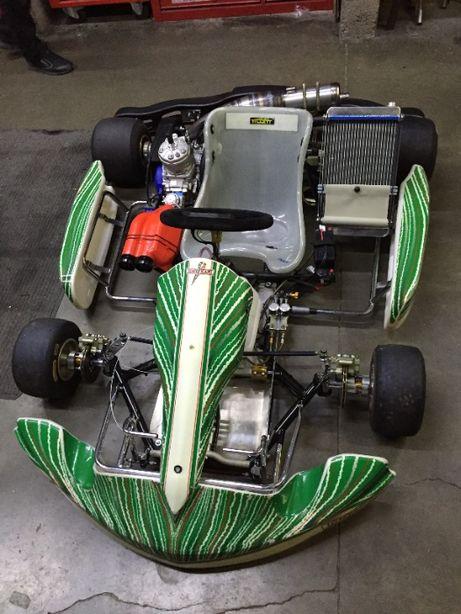 kart completo. Tony kart KZ 2012. Iame X30, 175cc