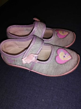 Buciki buty kapcie frozen elsa r. 27