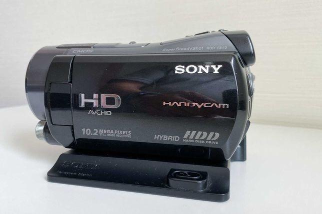 Kamera HD Sony HDR-SR12E wraz z akcesoriami