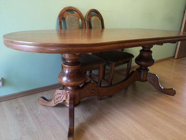 Duży stół owalny 200-250cm