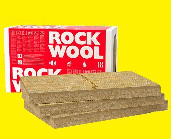 Вата фасадна Rockwool Frontrock Max E роквул мінвата фасад Доставка
