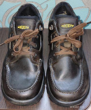 Кожаные туфли keen dry eu 44/27стелька