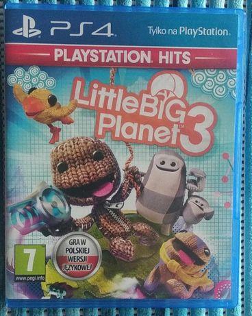 LittleBigPlanet 3 GRA PS4 Wysyłka 7,50 zł.