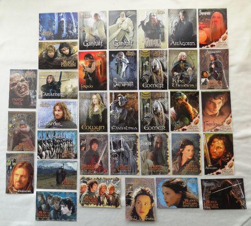 Kolekcja 34 pocztówek z Władcy Pierścieni (unikat)
