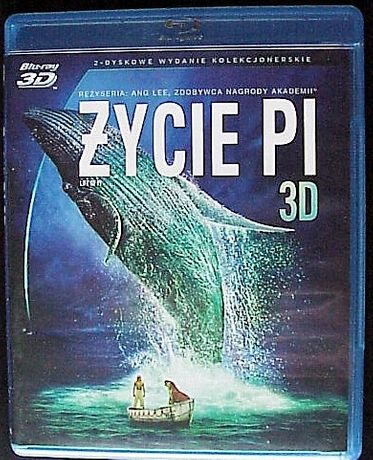 Życie Pi 2xBlu-ray 2D+3D