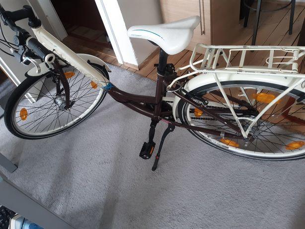 Rower dziewczecy miejski Kalkhoff,niemiecka jakość,aluminiowy,7 biegów