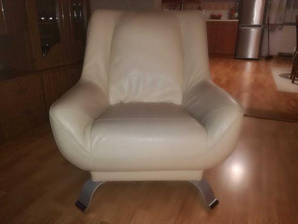 Fotele skórzane 2sztuki