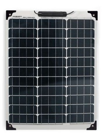 Painel fotovoltaico flexível de 80 watts 12 voltes