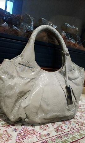 Фирменная сумка Calvin Klein.  Натуральная кожа