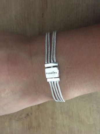 Nowa srebrna bransoletka S925Ale 16,5cm