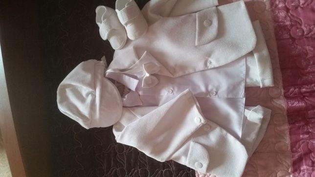 Ubranie na chrzest chłopiec 74 cm