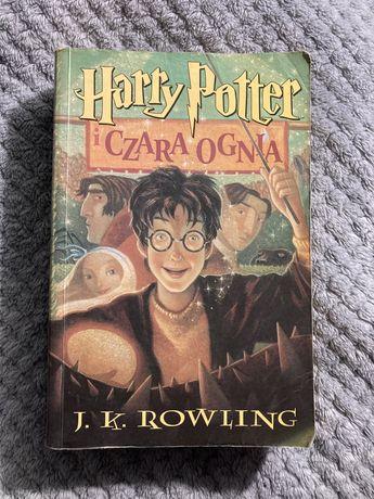 Harry Potter i Czara Ognia, Rowling