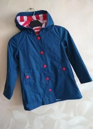 Фирменная ветровка куртка плащ дождевик грязепруф от Hatley 92-98