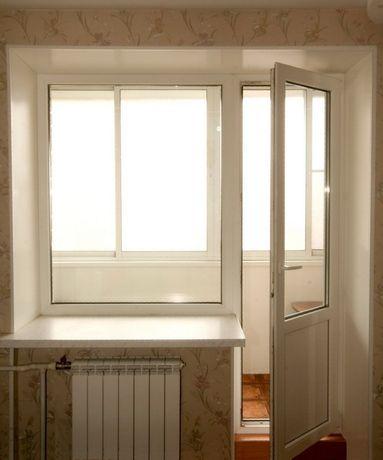 Окна двери металлопластиковые пластиковые балконный блок Steko
