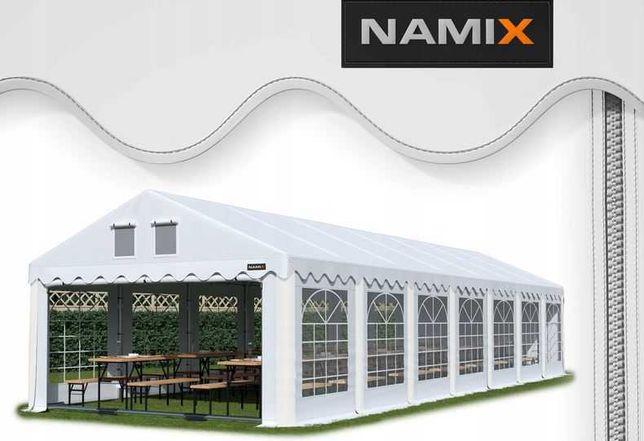 Namiot ROYAL 6x14 ogrodowy imprezowy garaż wzmocniony PVC 560g/m2