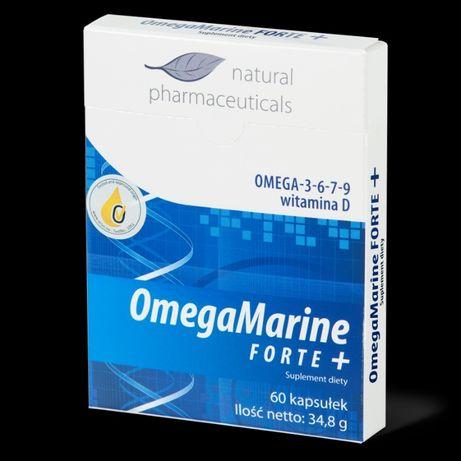 OmegaMarine FORTE+ - zapas na 1 miesiąc 60 kapsułek