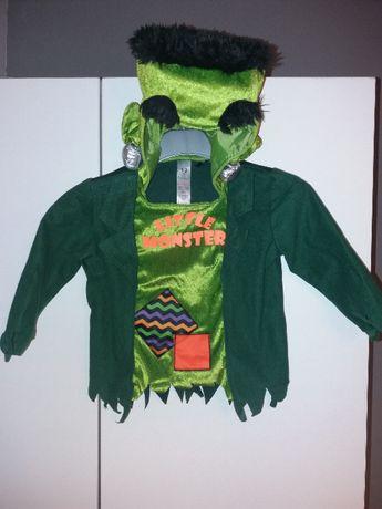 NOWY strój karnawałowy Frankenstein halloween przebranie 86/92 (4)