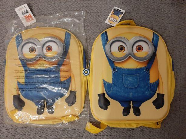 Nowe plecaki Minionki