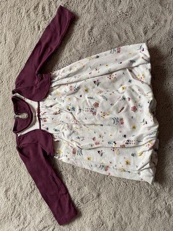 Sukienka tunika dla dziewczynki roz 12-24 miesiecy