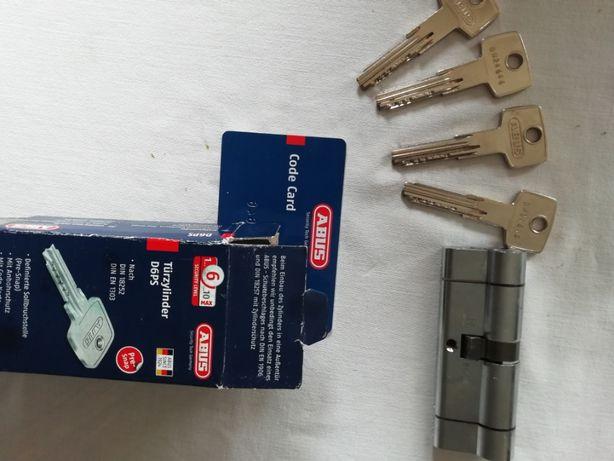 Canhão fechadura ABUS com 4 chaves