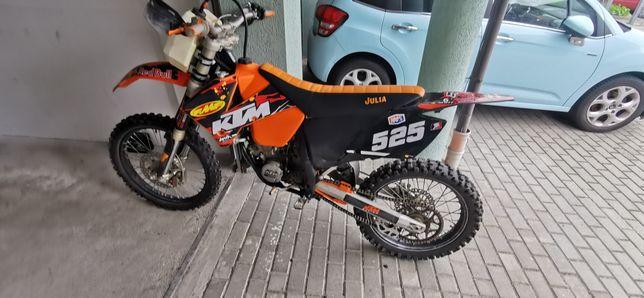 Motocykl ktm sx 125 2t 2001 nie CR KXF YZ