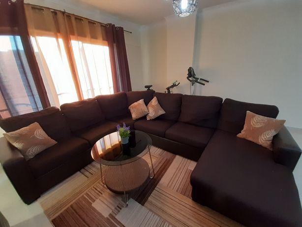 Sofá de canto chaise longue