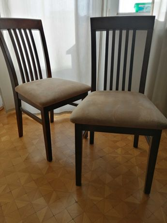 Krzesła drewniane jak nowe