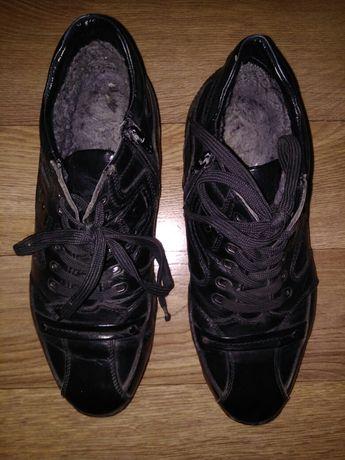 .Зимние ботинки. Винтажные женские бот