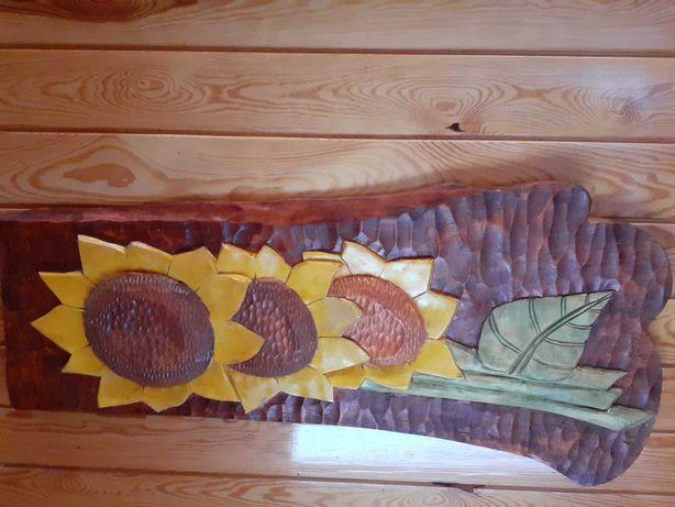 Rzeźba Słoneczniki