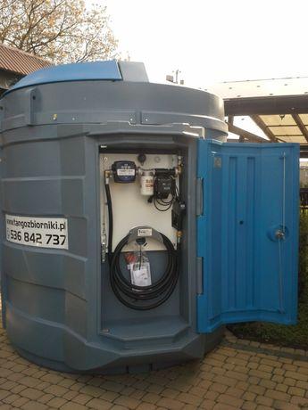 Zbiornik dwupłaszczowy 5000 l Tango Oil - PRODUCENT