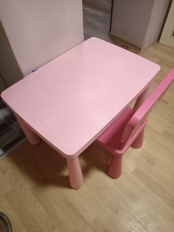 Stolik i krzesełko