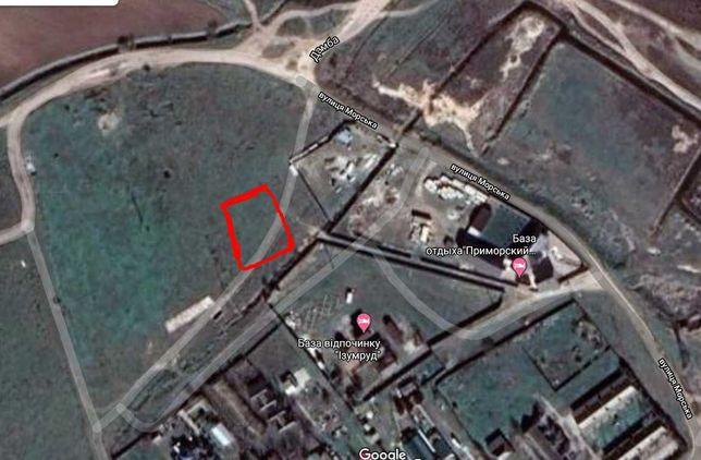 Продам земельный участок возле моря  (Приморское. Килийский р-н)